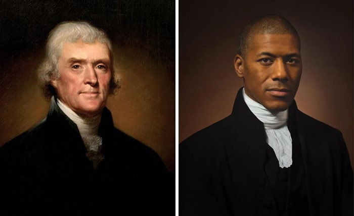 Thomas Jefferson (1800) e Shannon Lanier