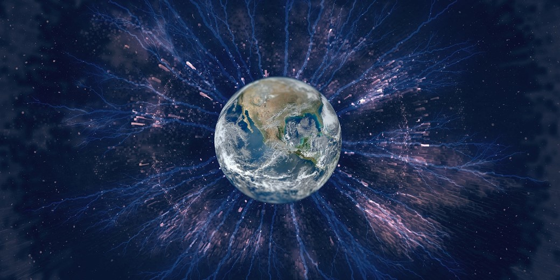 Terra possui sinfonia atmosférica única.