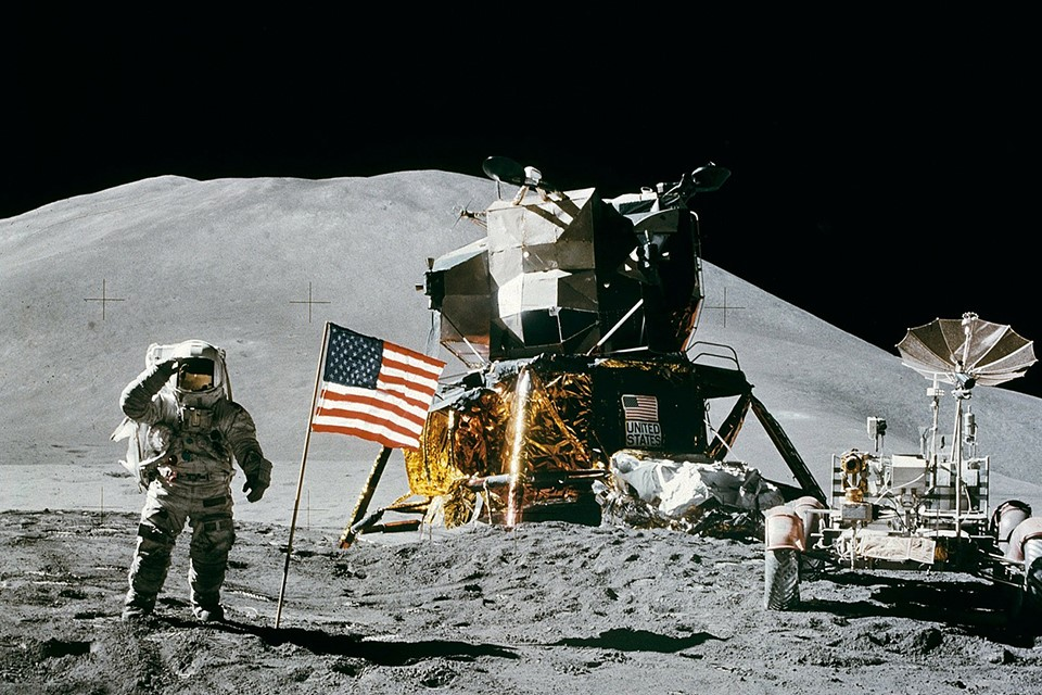 Pouso da Apollo 15 na Lua