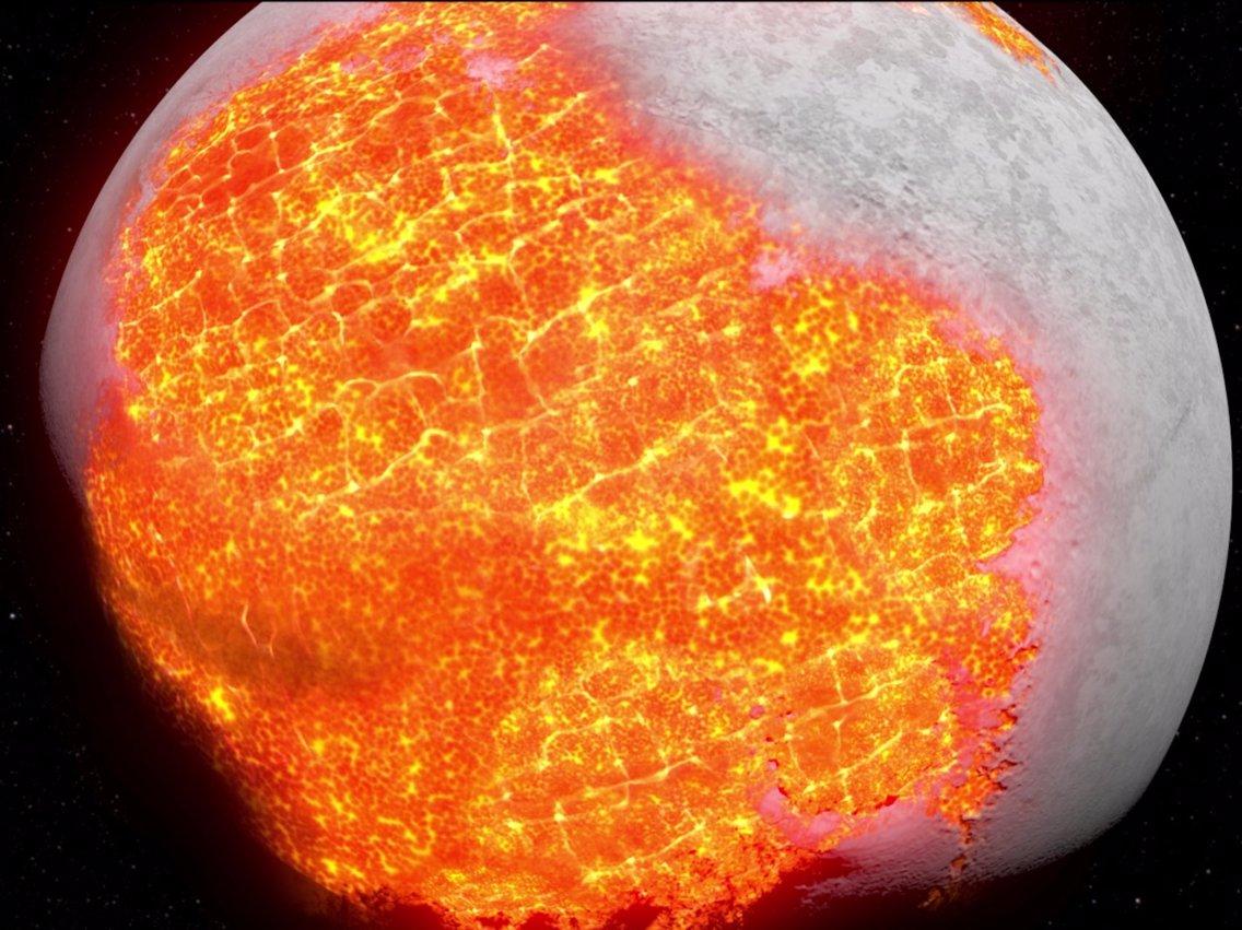 Oceanos de magma podem ter durado bem mais que se acreditava até então.