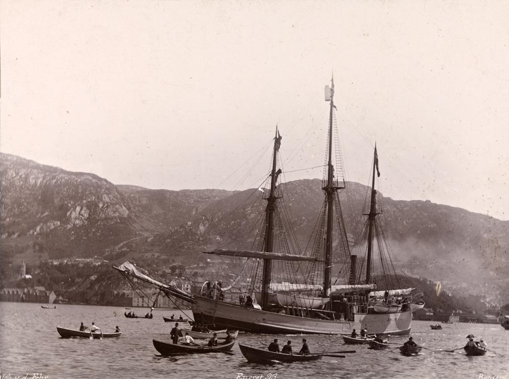 A expedição de Nansen (Fonte: Wikipedia/Reprodução)