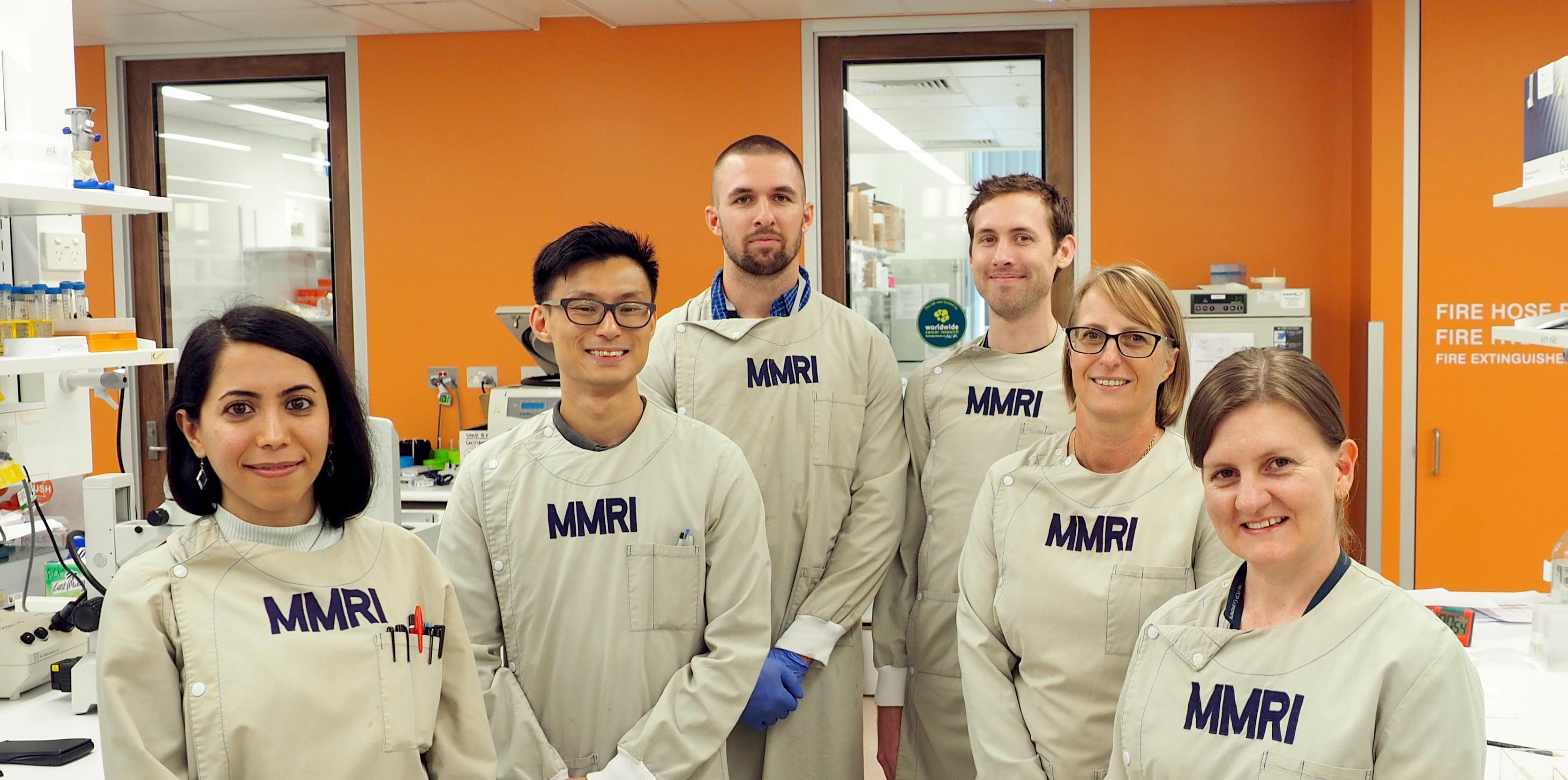 A equipe que está desenvolvendo a vacina contra o câncer (Fonte: Translational Research Institute)