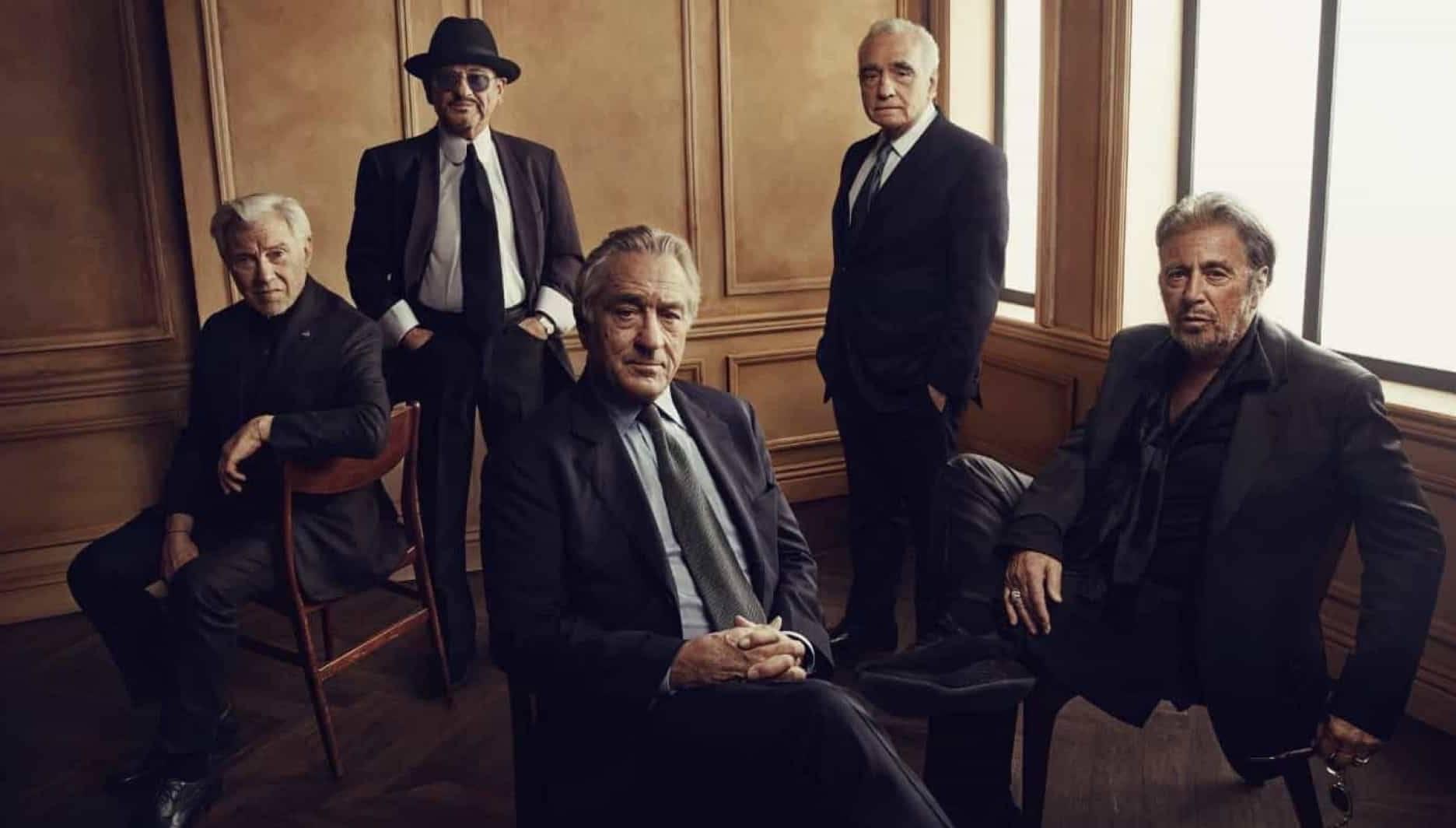 'O Irlandês', longa de Martin Scorsese, está na lista de mais assistidos.