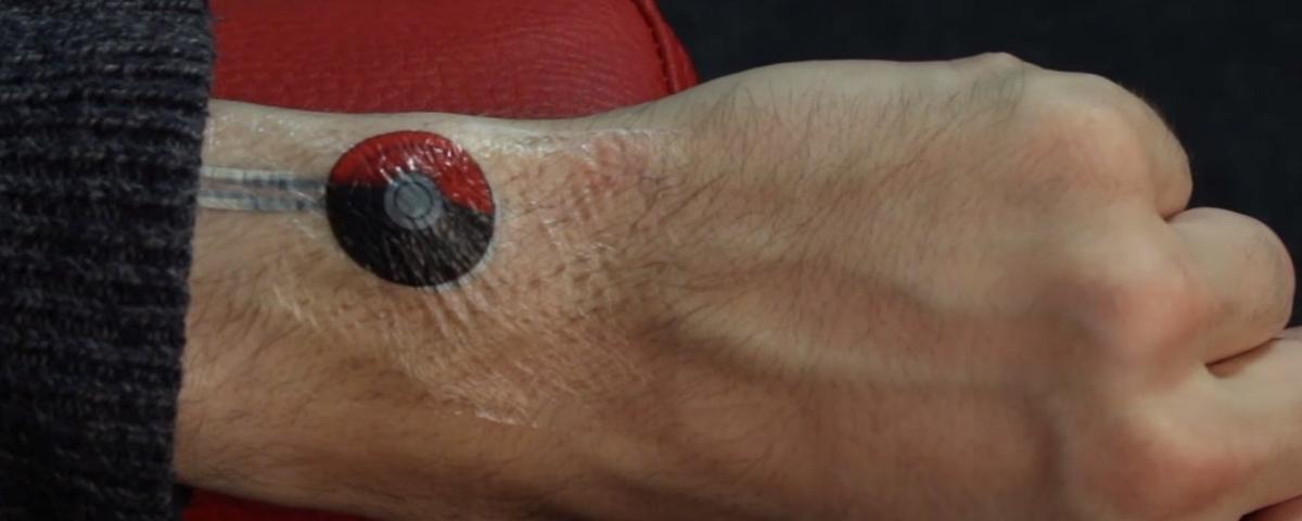 Imagem de: Google está trabalhando em 'tatuagens sensíveis ao toque'