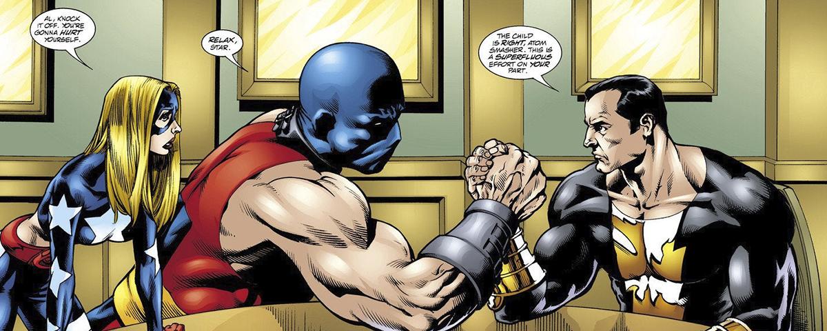 Adão Negro: Noah Centineo viverá o Esmaga-Átomo no filme da DC ...