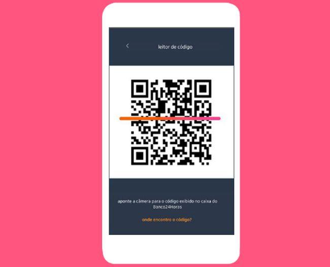 Após transferir os valores para a plataforma, o usuário pode sacar gratuitamente nos caixas da rede Banco24Horas.