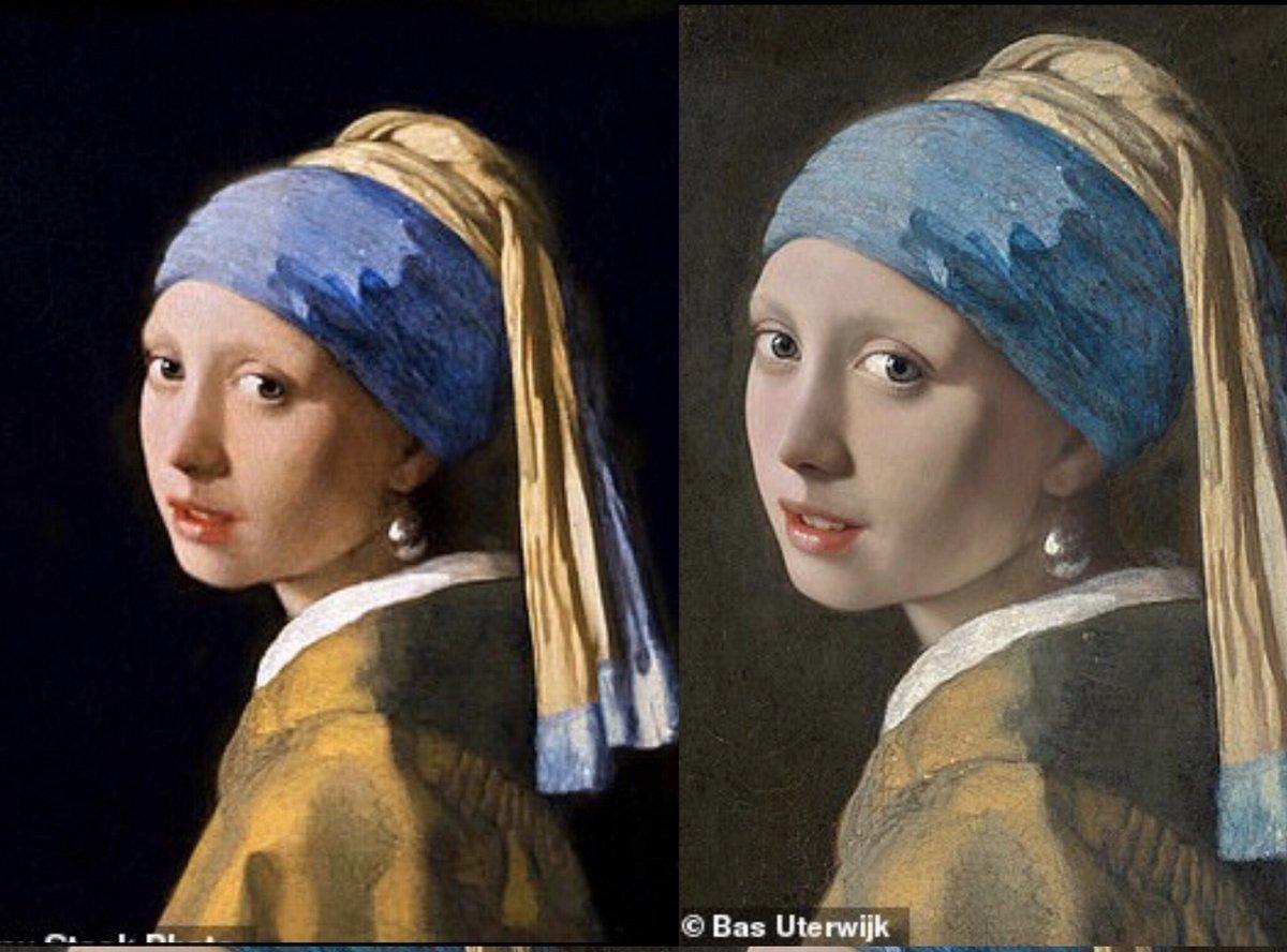 """""""Moça com Brinco de Pérola"""", pintura de Johannes Vermeer"""