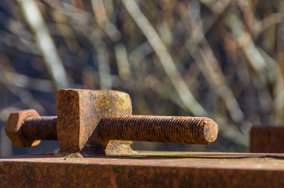 Metal contaminado poderia ser decomposto por bactérias. (Fonte: Stocksnap)