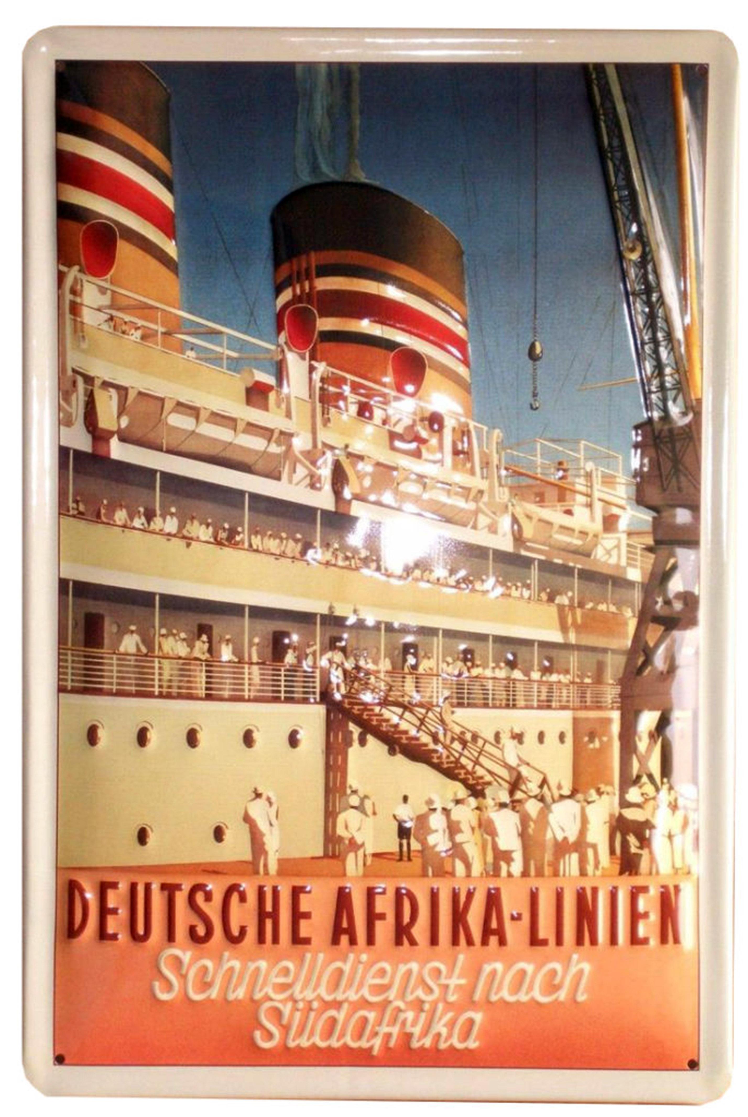 Pôster do Windhuk na Alemanha. (Fonte: Blog Memória Santista/Reprodução)