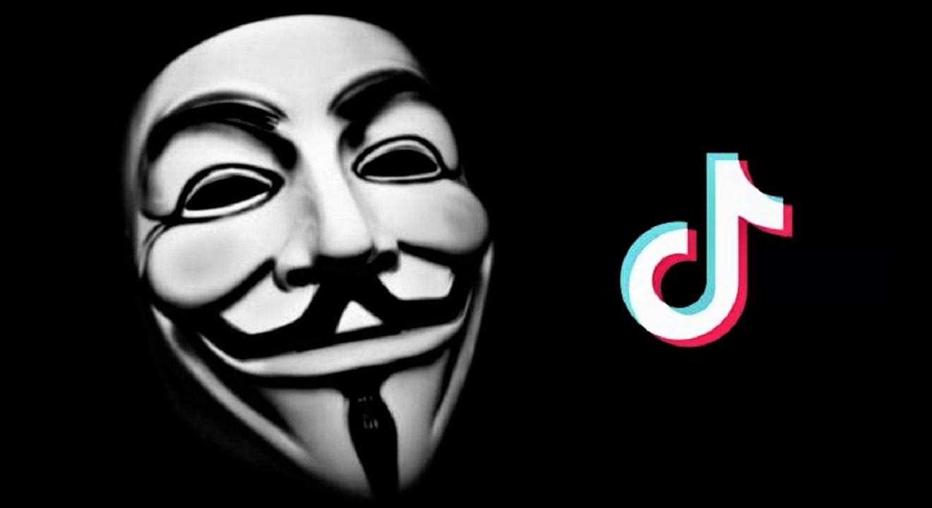 Anonymous declara que TikTok pode roubar dados de usuários.