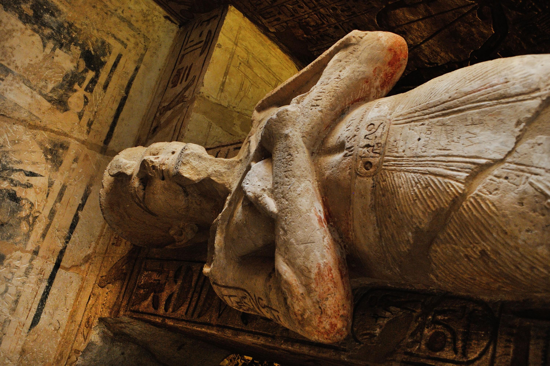 Múmia egípcia em perfeito estado de conservação