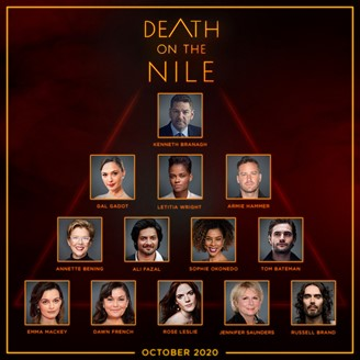 'Death on the Nile' Cast