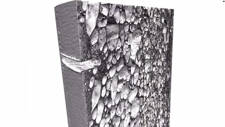 Uma imagem feita em computador apresenta o Proteus por dentro. (Fonte: Durham University/Reprodução)