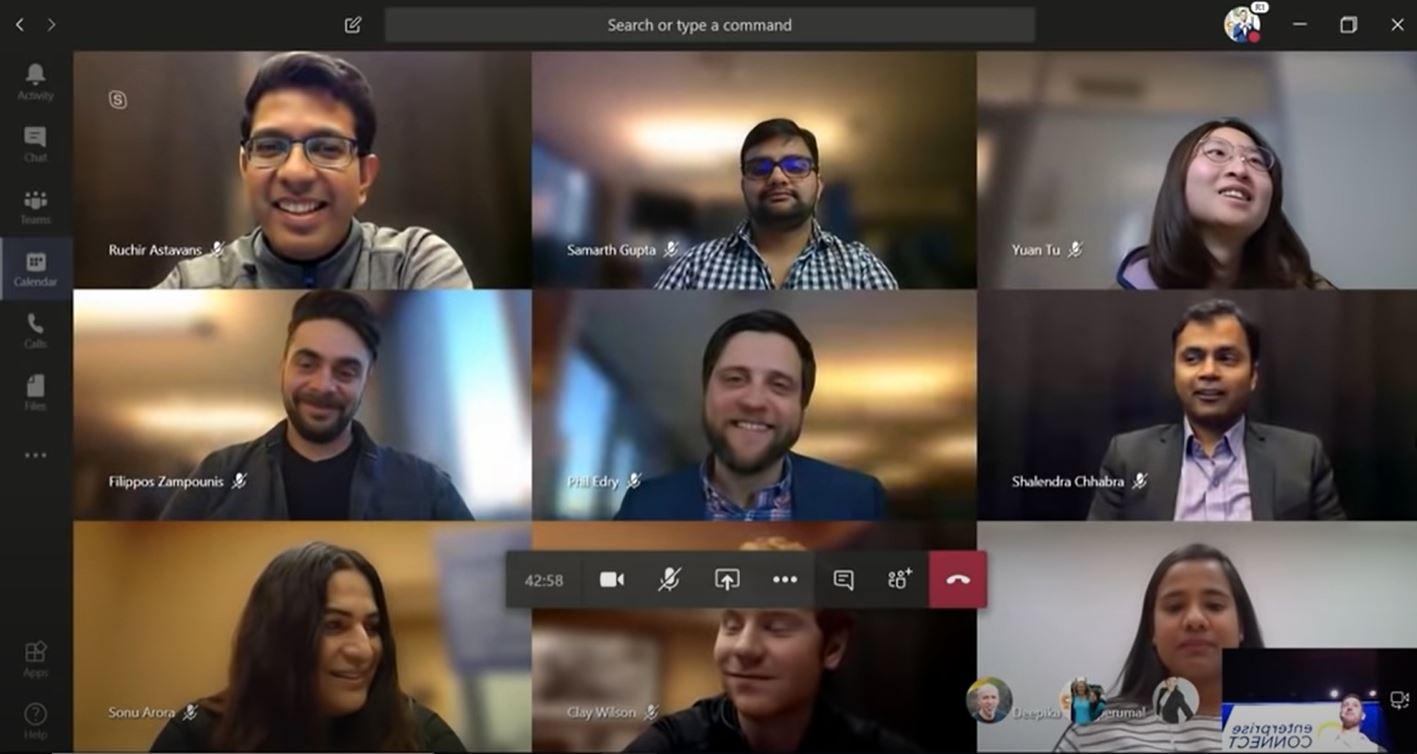 Microsoft:Teams poderá unir várias chamadas de vídeo