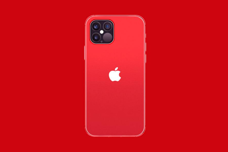 Suposto visual do iPhone 12