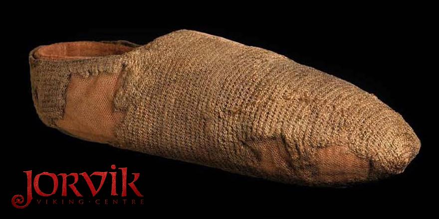 Meia viking de 1000 anos (Fonte: Jorvik Viking Centre/Twitter - Reprodução)