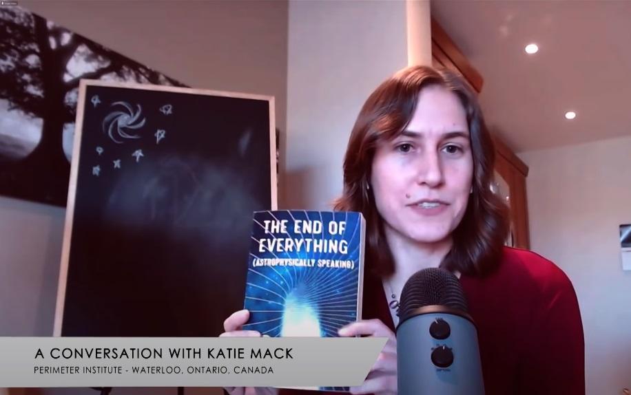 Katie Mack, autora do livro The End of Everything: (Astrophysically Speaking)