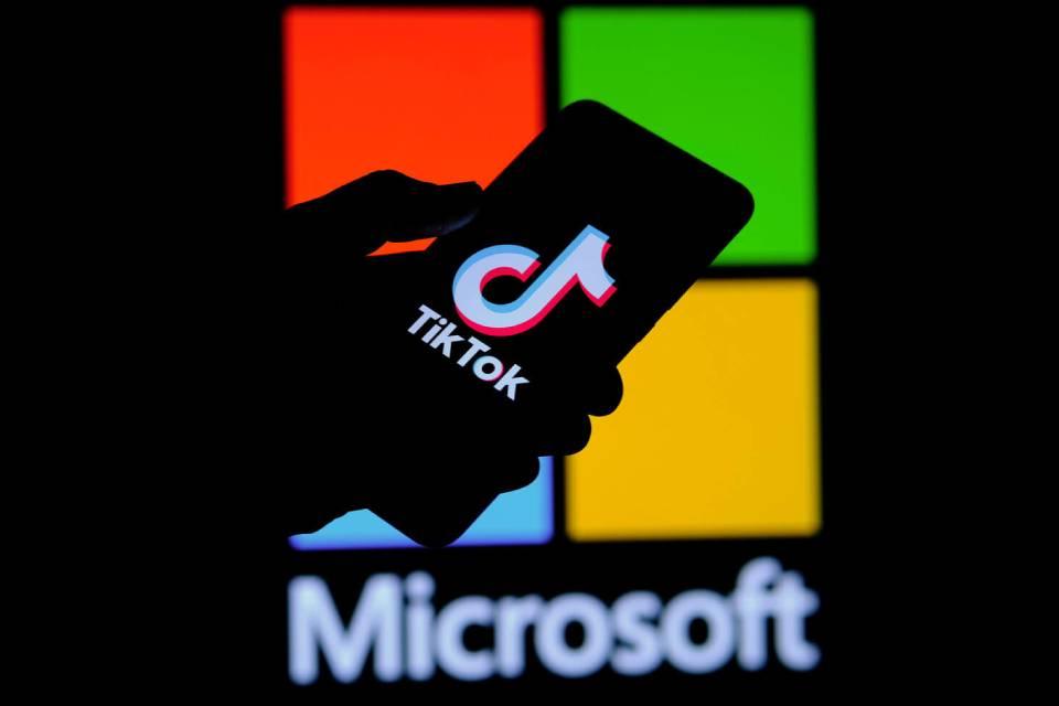 Microsoft considera adquirir operações globais do TikTok