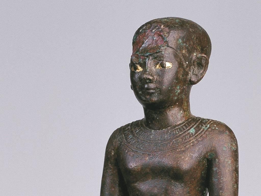 Estátua em bronze (Fonte: Museu de Menorca/Divulgação)