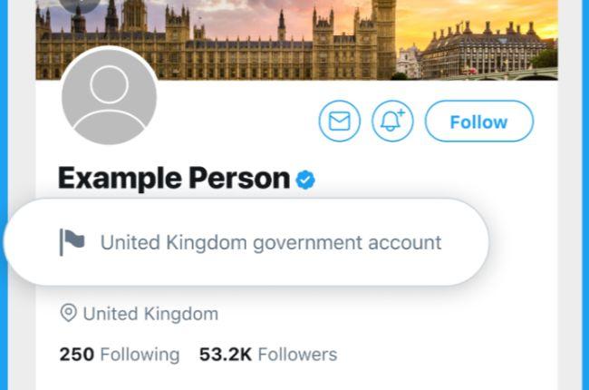 As contas rotuladas trarão a bandeira do país ao qual estão vinculadas.