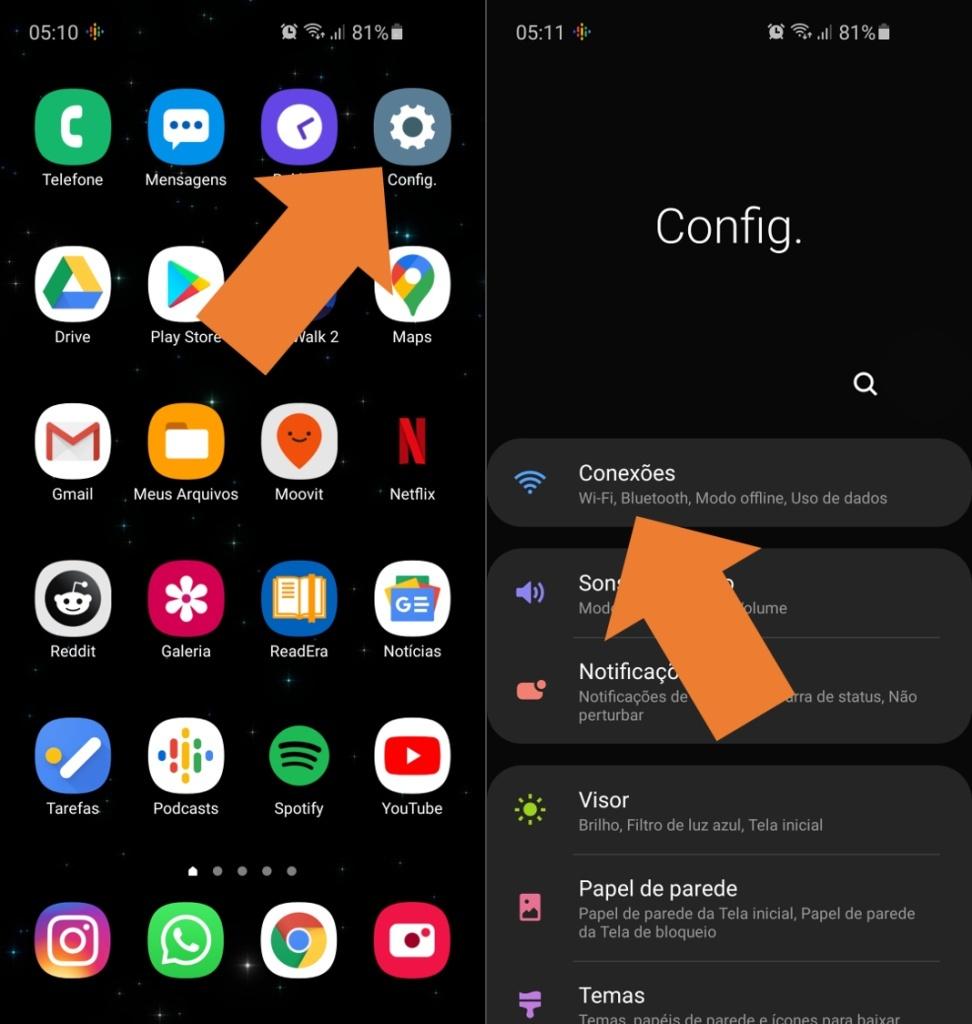 Como compartilhar o seu Wi-Fi via QR Code pelo Android
