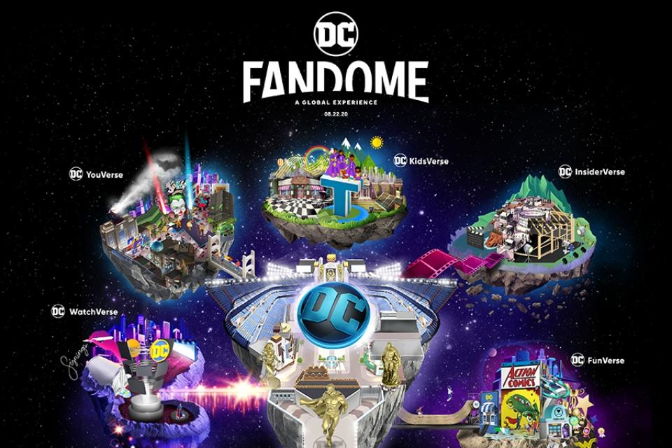 DC FanDome: confira o LineUp de convidados e apresentadores