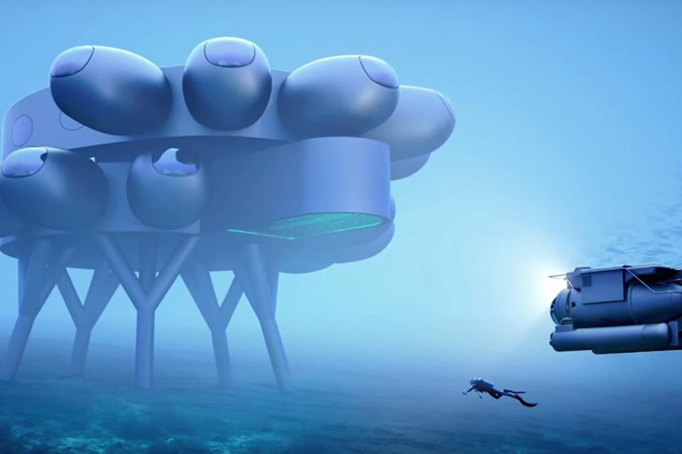 Fabien Cousteau construirá uma estação internacional subaquática