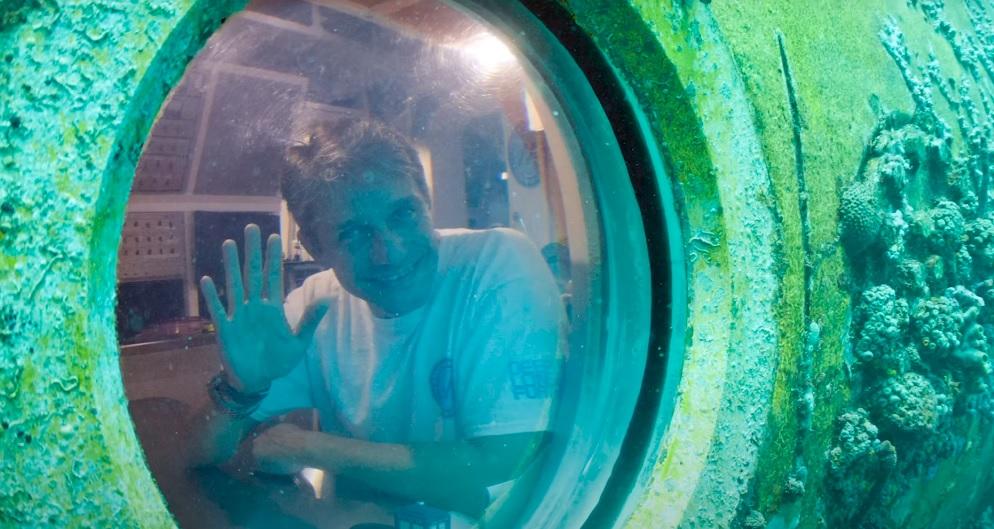 Fabien Cousteau durante a Missão 31