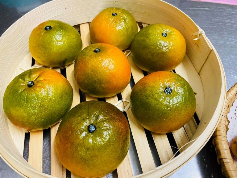 Parecem frutas, mas são os pãezinhos doces de Le Thuy. (Fonte: Le Thuy/Reprodução)