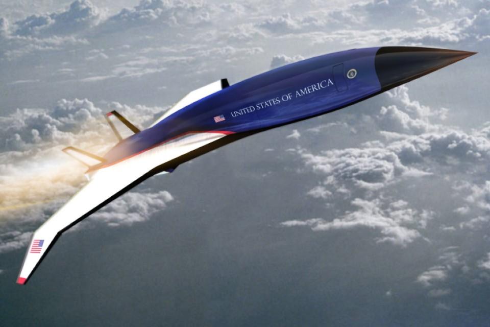 Força Aérea 1 será um jato hipersônico