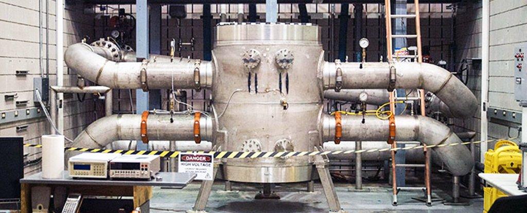 Maior ímã do mundo (Fonte: National High Magnetic Field Laboratory/Reprodução)