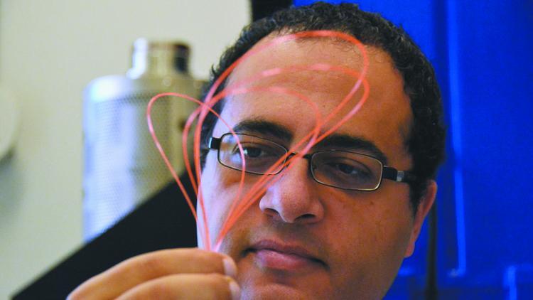 Ayman Abouraddy, líder da pesquisa.