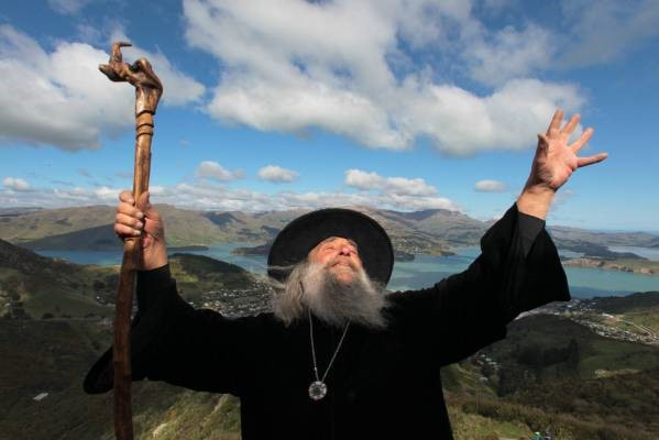 Ian Brackenbury Channell, o mago de Christchurch. (Fonte: Kirk Hargreaves/Stuff/Reprodução)