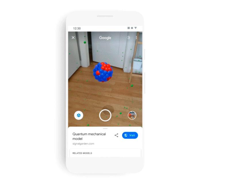 O buscador da Google exibirá modelos 3D direto nos resultados de pesquisa