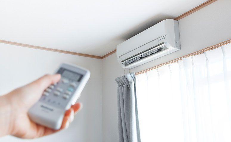 A manutenção do ar condicionado é essencial para a economia de energia.
