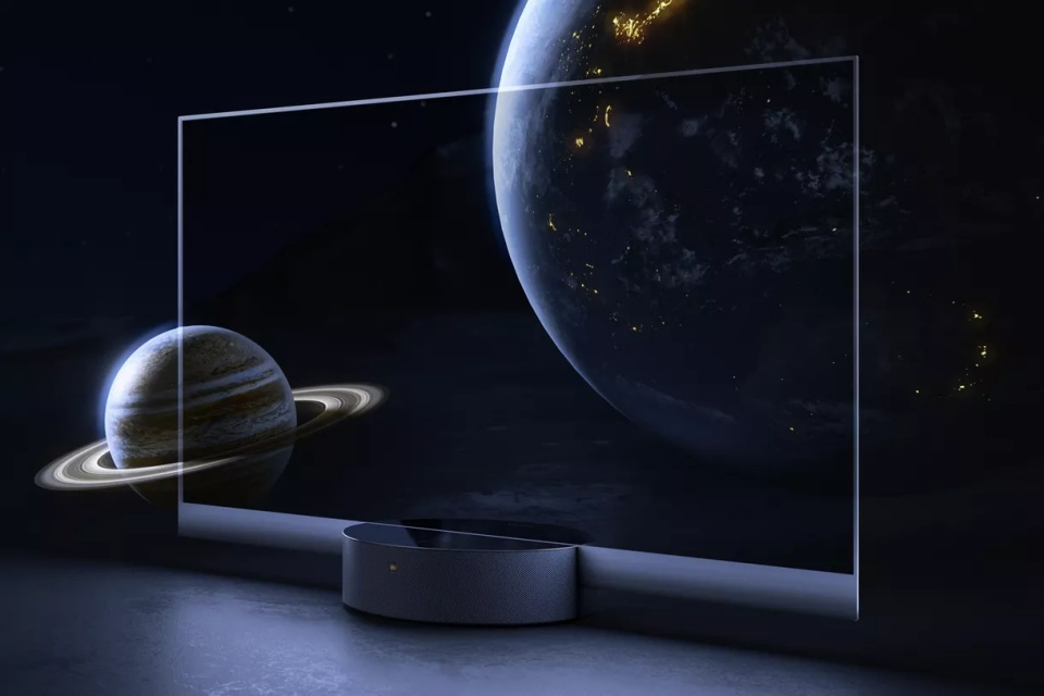 Xiaomi lança TV transparente de US$ 7.200