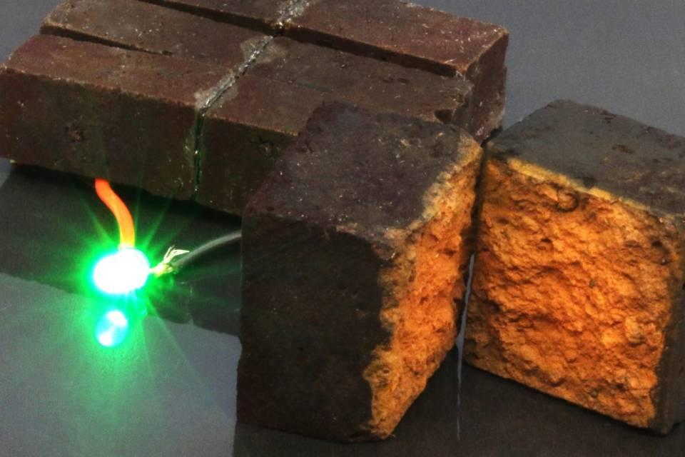 Cientistas transformam tijolos comuns em supercapacitores