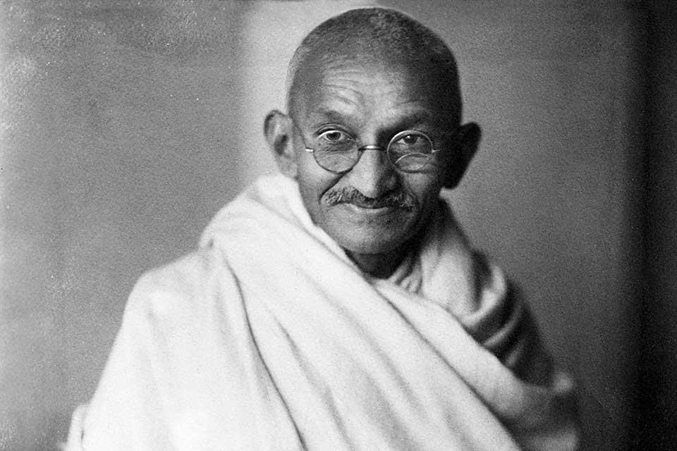 O líder pacifista é uma inspiração na luta pela liberdade. (Fonte: Wikimedia Commons)