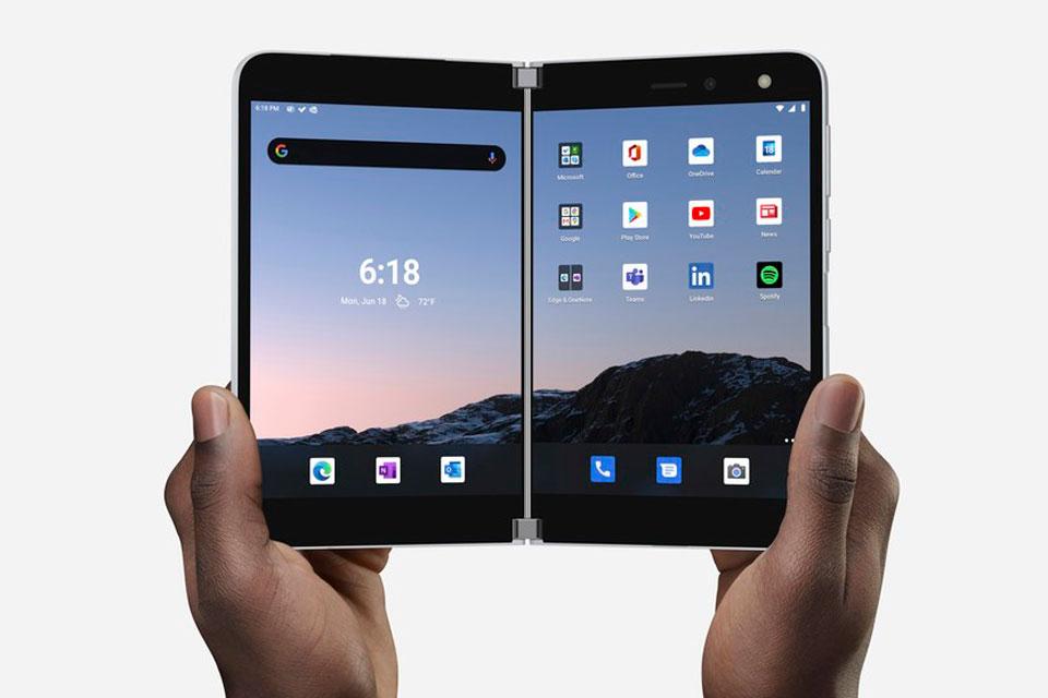 Surface Duo terá Android atualizado por 3 anos, garante Microsoft