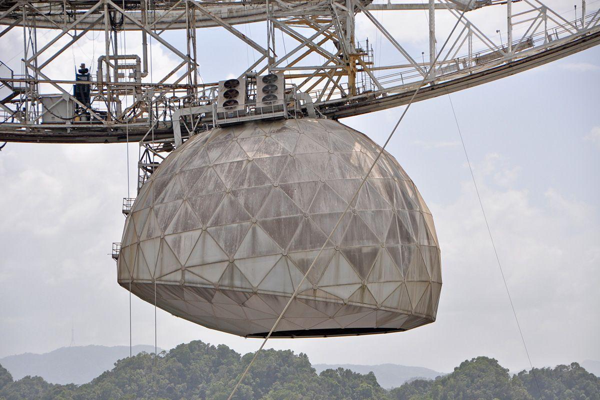 8 painéis do famoso Domo Gregoriano do observatório também foram atingidos pelo acidente (Fonte: Shutterstock)