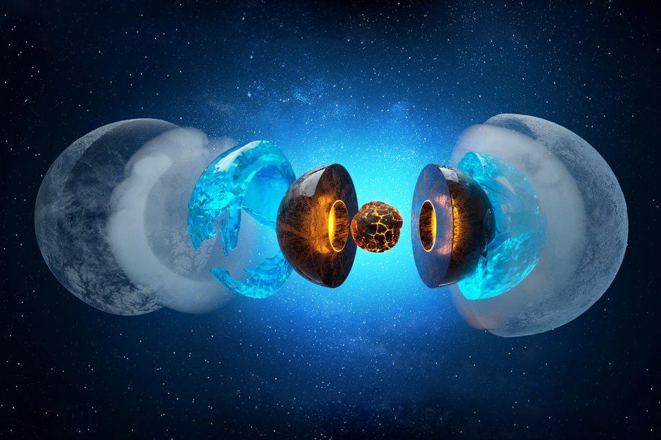 Gelo bizarro compõe o interior de Netuno e Urano