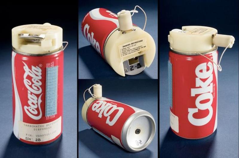 A lata da Coca-Cola