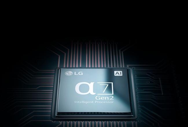 O processador Alpha 7 de segunda geração traz várias ferramentas de inteligência artificial.