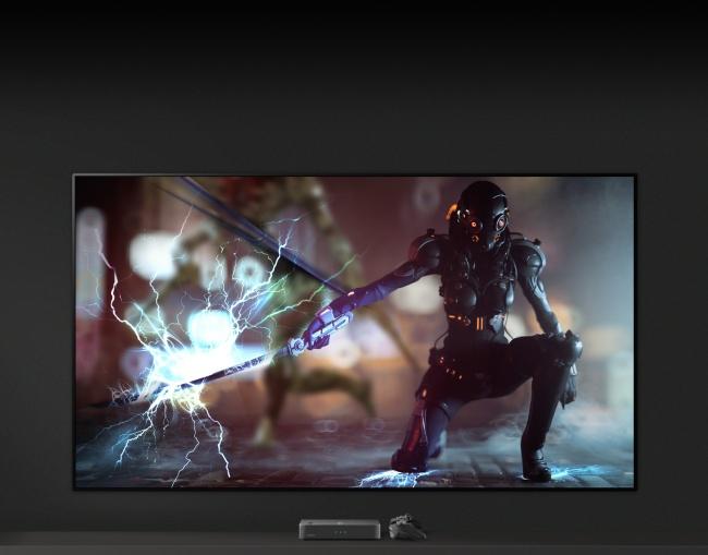 Quem gosta de jogar também vai se dar bem com esta TV LG.