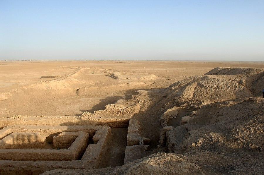 Sítio arqueológico onde a peça foi encontrada. (Fonte: Wikimedia Commons)