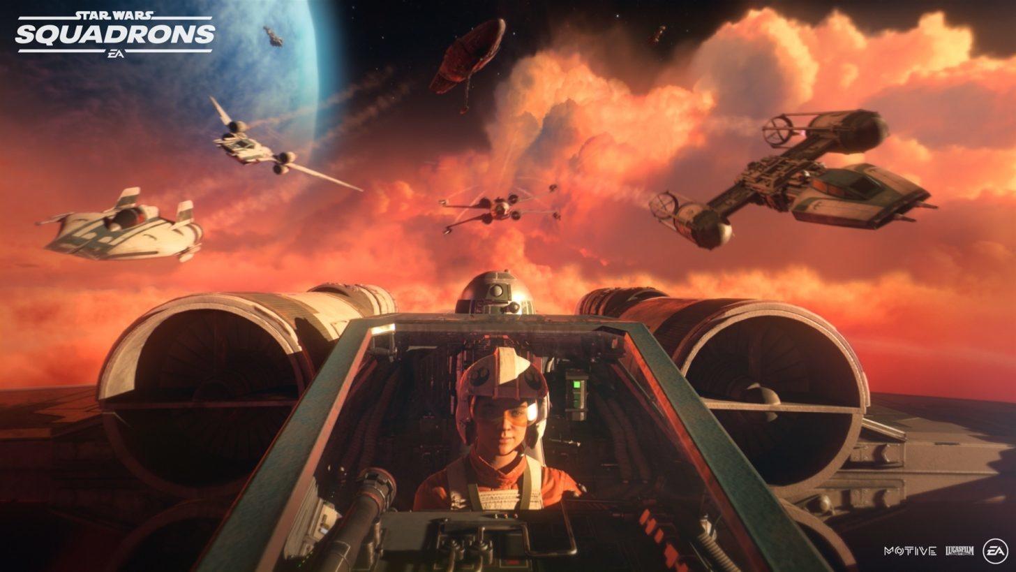 Star Wars: Squadrons ganha trailer de história e mais gameplay na Gamescom  - Voxel