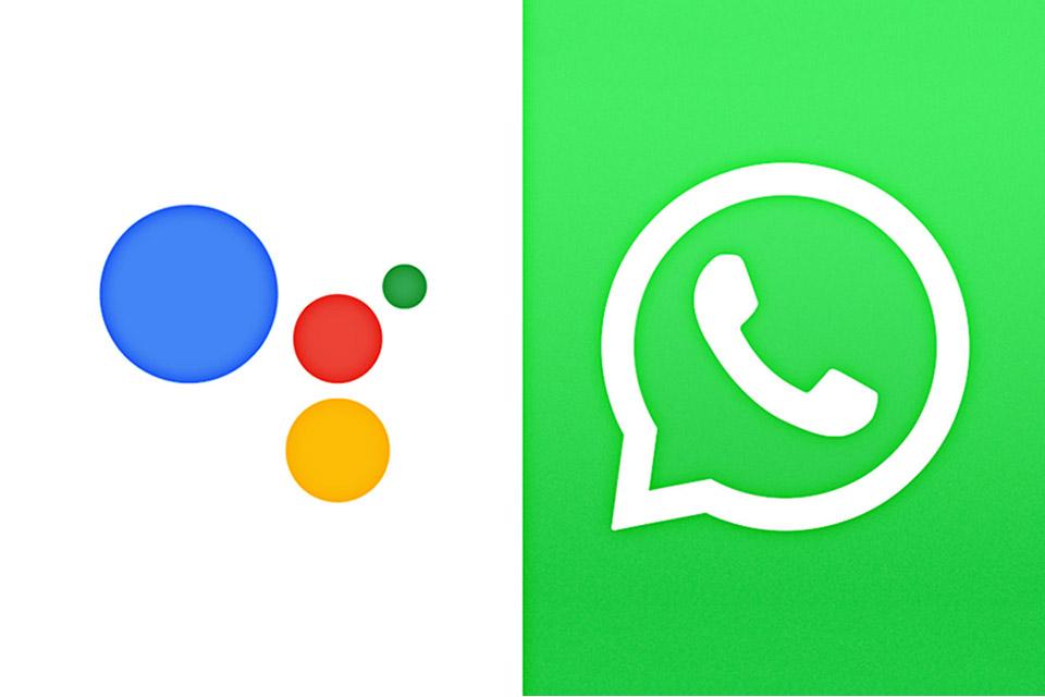Como enviar mensagem de voz no WhatsApp com o Google Assistente