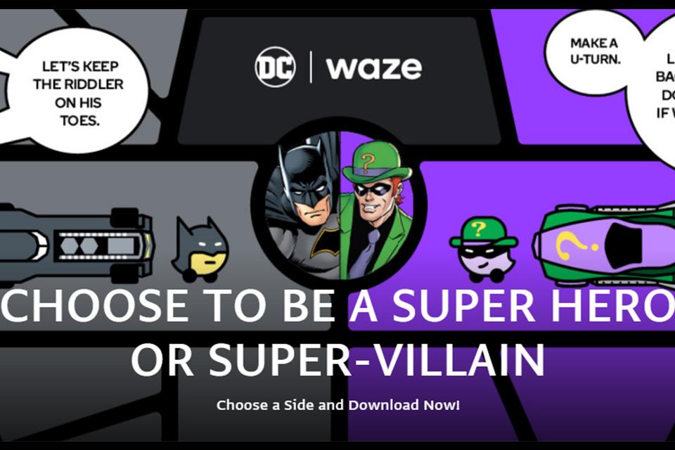 Waze lançará tema especial em comemoração ao Dia do Batman