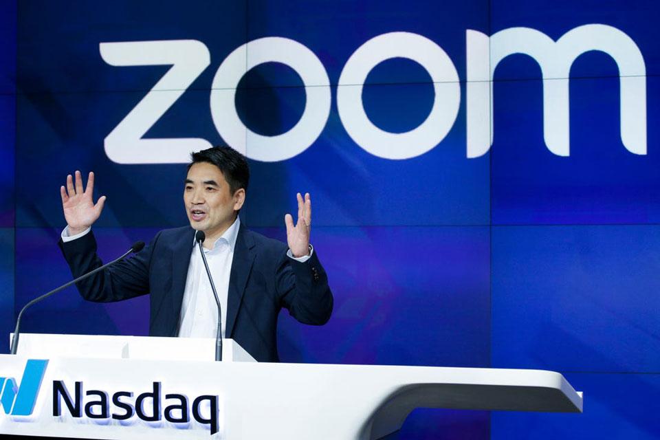 Receita da Zoom cresceu 355% com impulso dado pela pandemia