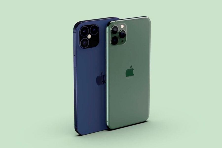 Conceito do iPhone 12 baseado em rumores
